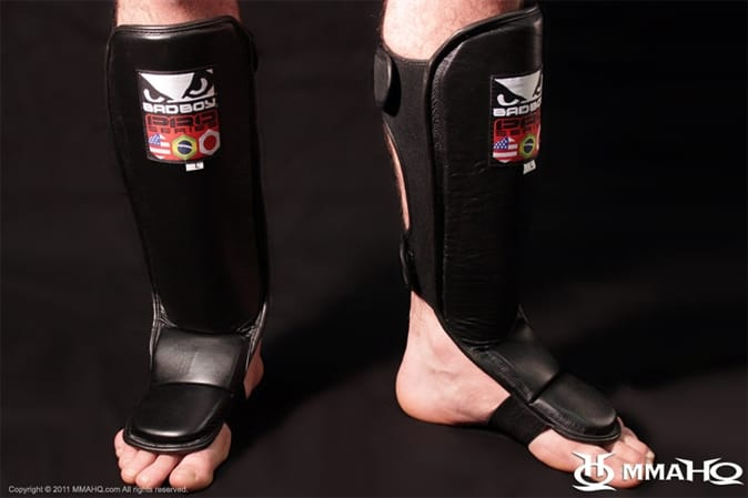 MMAHQ.COM Deal of the Day- Bad Boy Shin Guards $30.00