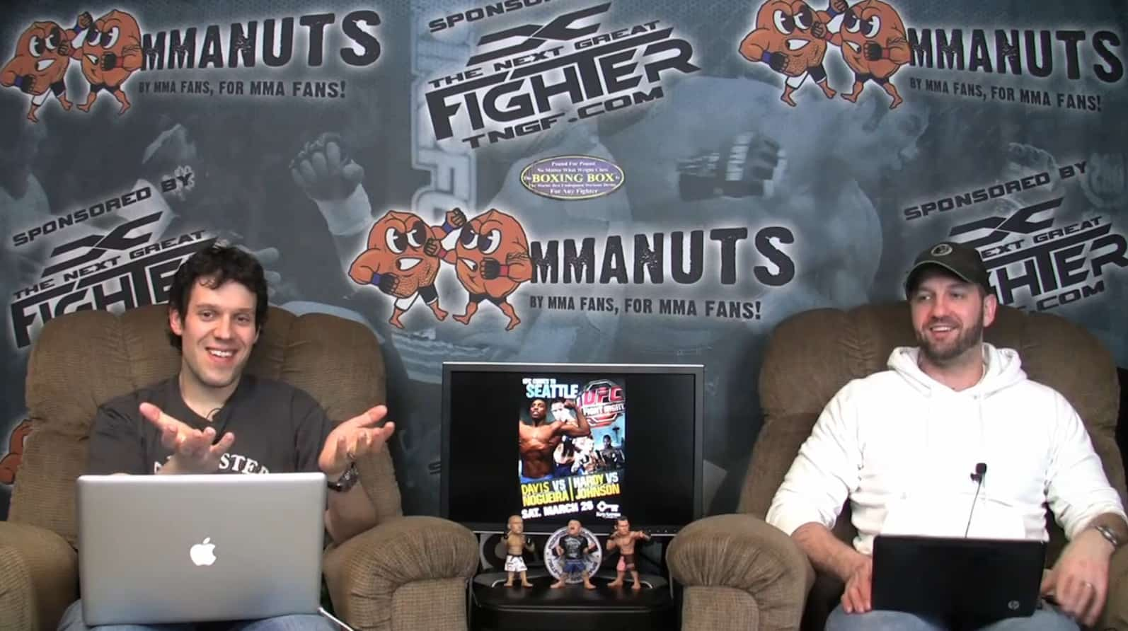 Episode 50- Strikeforce: Diaz vs. Daley Preview and UFN 24: Nogueira vs. Davis Recap – MMANUTS.COM