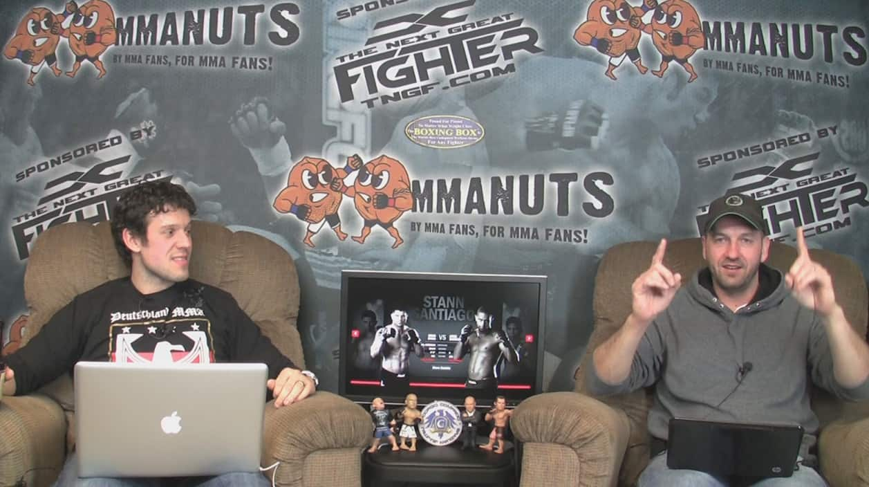 Episode 56- UFC 130: Rampage vs. Hamill Preview – MMANUTS.COM