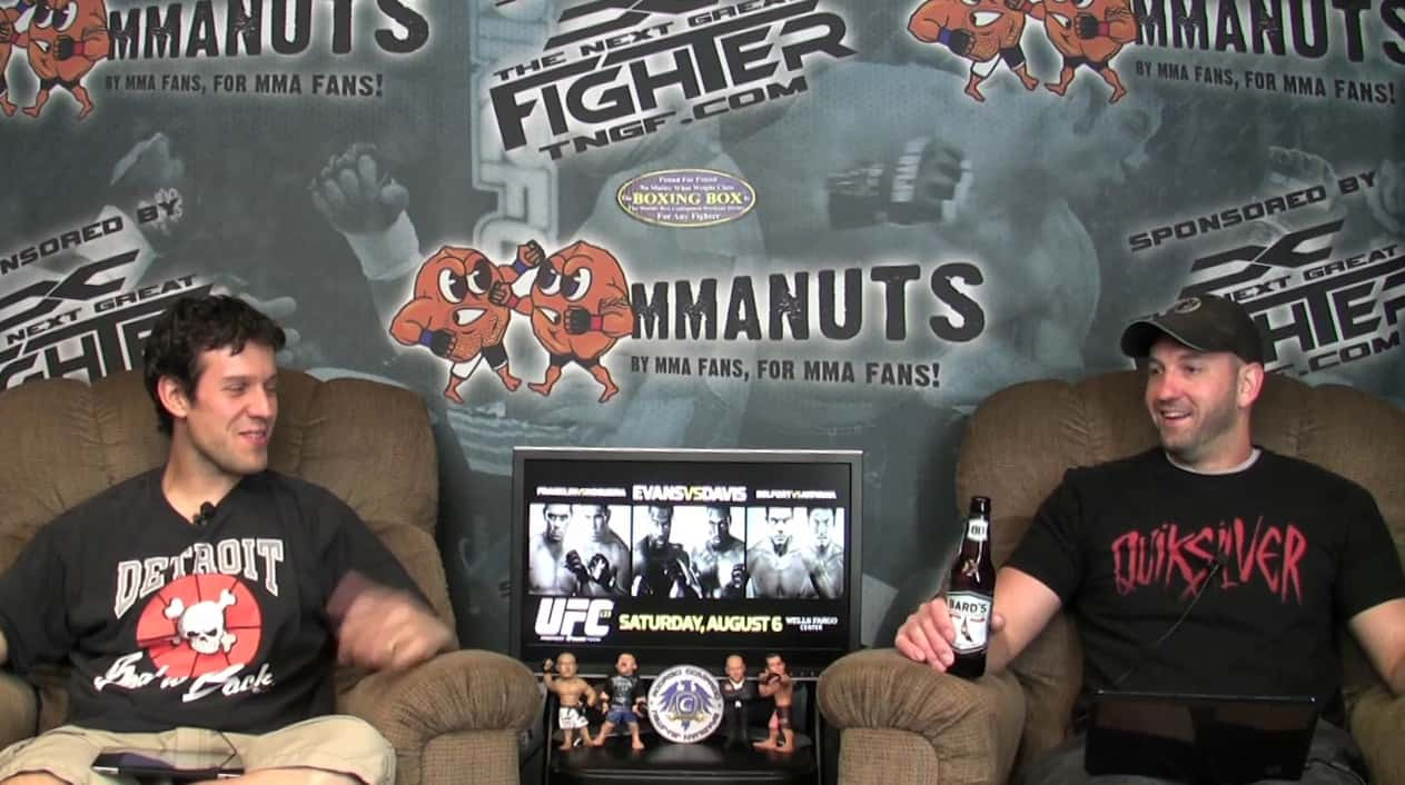 Episode 64-UFC 133: Evans vs. Ortiz and other Randomness – MMANUTS.COM