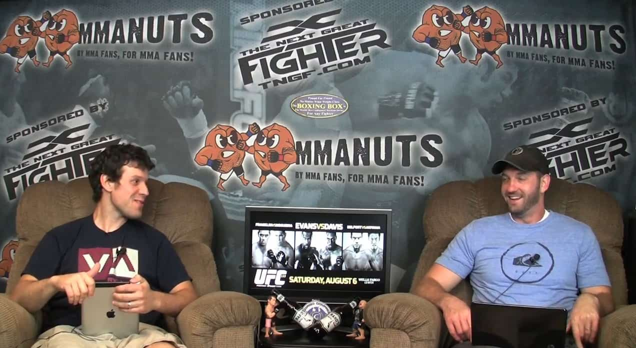 Episode 66- UFC 133: Evans vs Ortiz Recap – MMANUTS.COM
