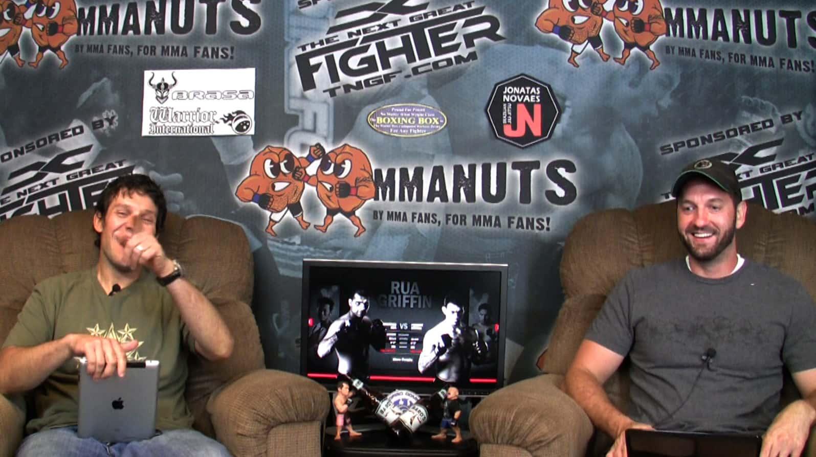 Episode 68- UFC 134 RIO: Silva vs Okami Preview – MMANUTS.COM