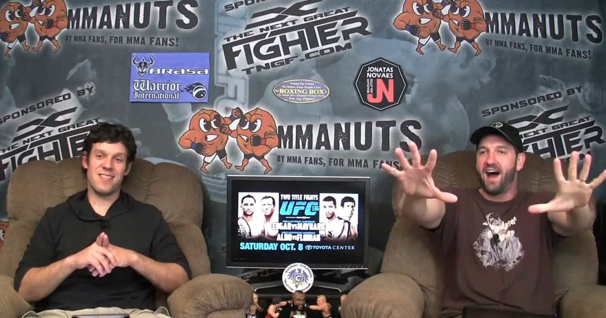 Episode 75- UFC 136: Edgar vs Maynard III Recap – MMANUTS.COM
