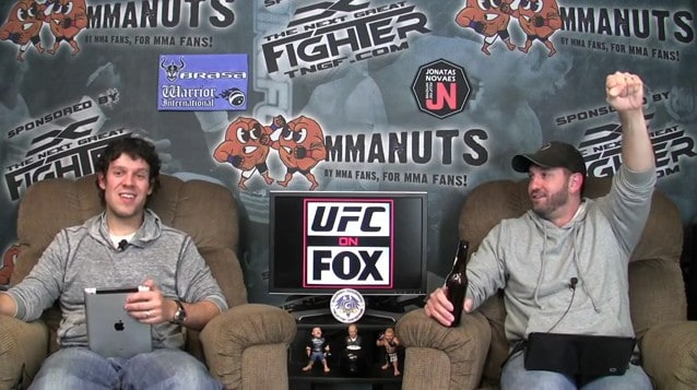 Episode 80: UFC on Fox Recap and TUF 14: Bisping vs Mayhem Preview – MMANUTS.COM