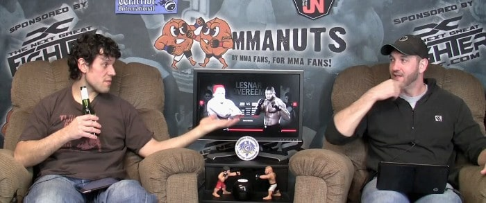 Episode 85- UFC 141: Lesnar vs Overeem Preview – MMANUTS.COM