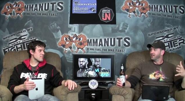 Episode 98- UFC 145: Jones vs Evans Preview – MMANUTS.COM