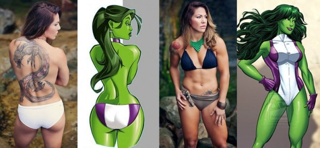 Cris Cyborg She Hulk