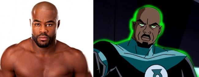 Rashad John Stewart Green Lantern