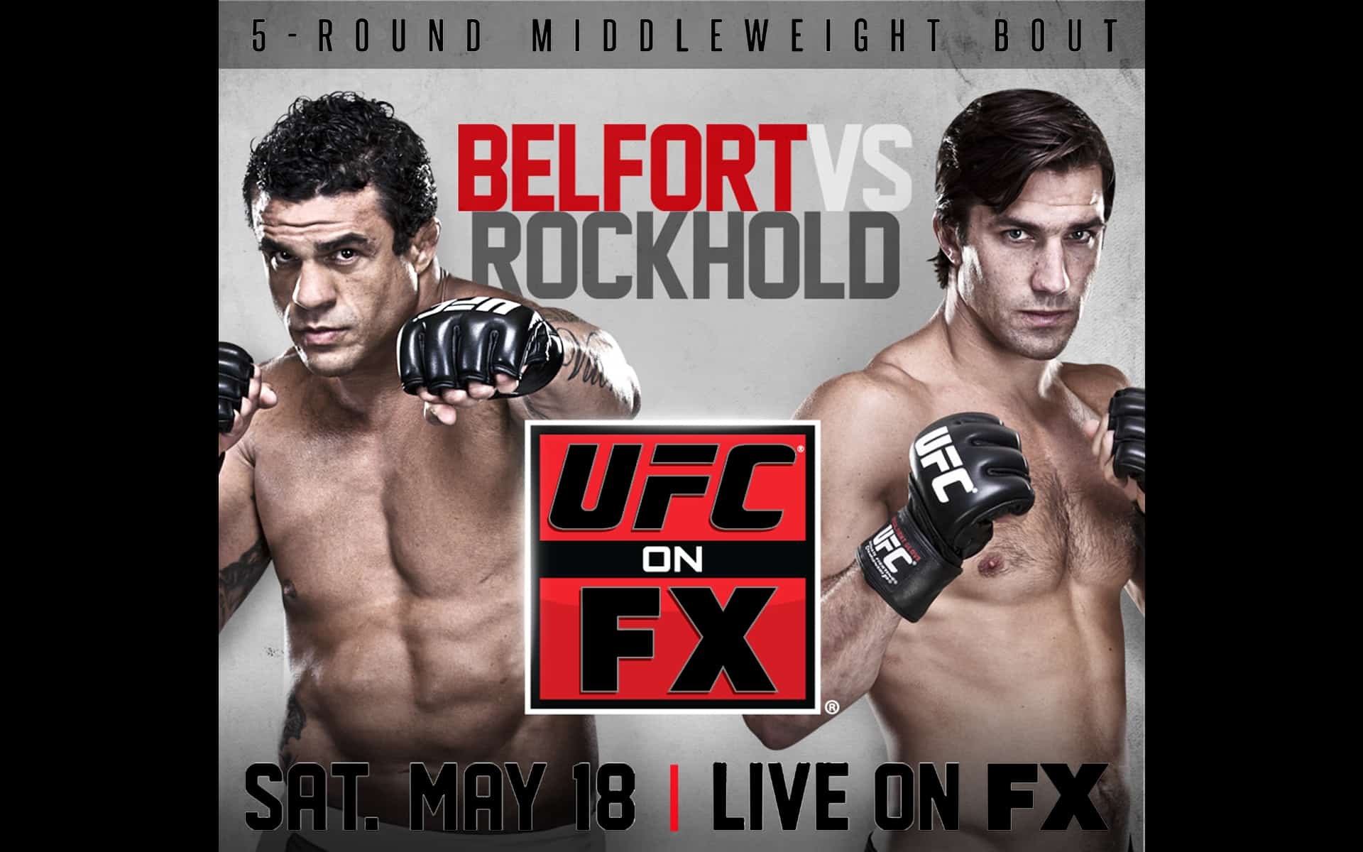 Watch Vitor Belfort Get All Fired Up at Luke Rockhold at the UFC on FX 8 Weigh-Ins