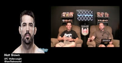 EP # 160 | with UFC Welterweight Matt Brown | MMANUTS
