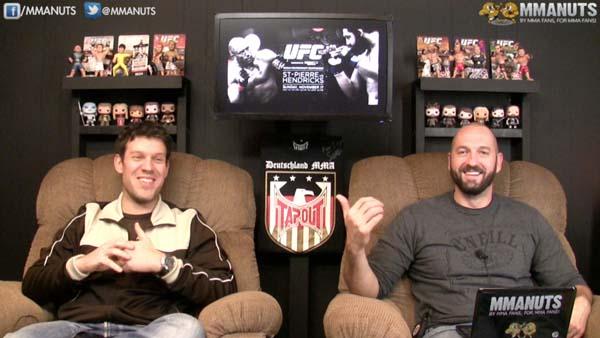 EP # 177   UFC 167 Recap   GSP vs Johny Hendricks   MMANUTS