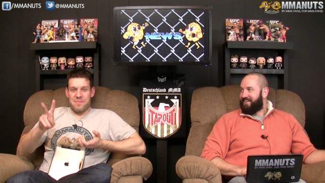 UFC 171 Preview | Hendricks vs Lawler | MMANUTS | EP # 191