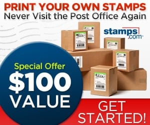 Stamps.com Promo Code | $100 offer | Code MMA