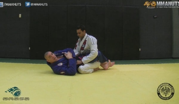 armbar variation from guard