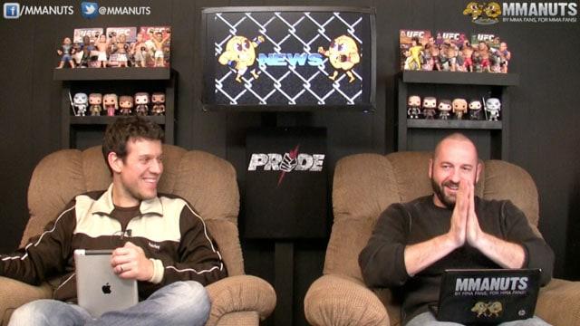 MMANUTS on UFC 181 Recap, UFC Reebok Uniforms, CM Punk, Mickey Rourke | EP # 223