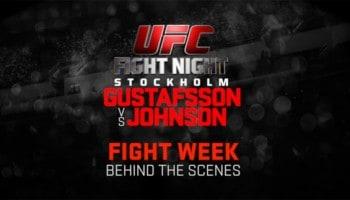 UFC behind the scenes