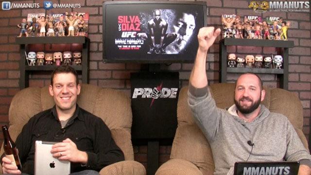 Anderson Silva and Nick Diaz | MMANUTS | EP # 231