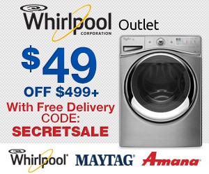 Whirlpool Outlet Promo Code