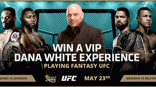 Draftkings dana white