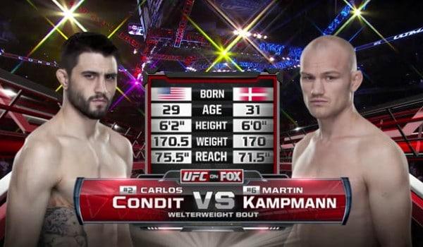 condit vs kampmann