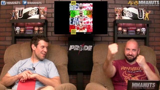 UFC 189 Preview   Conor McGregor vs Chad Mendes   MMANUTS   EP # 250