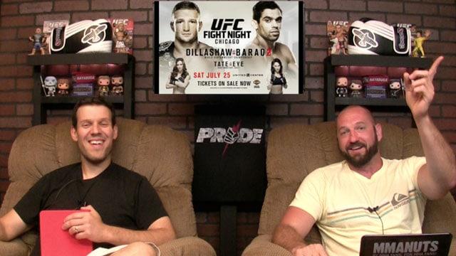 UFC on FOX Chicago Recap | TJ Dillashaw vs Renan Barao | MMANUTS | EP # 253