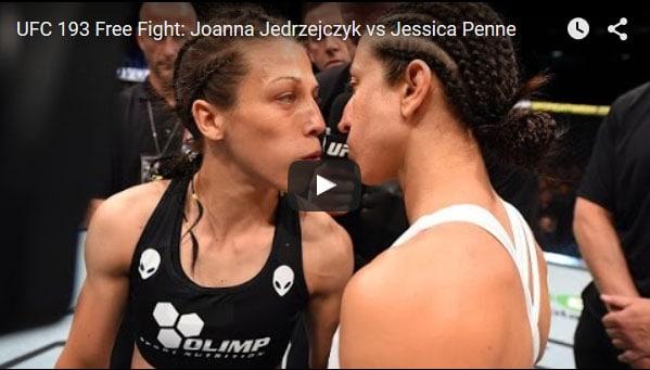 Joanna Jedrzejczyk vs Jessica Penne