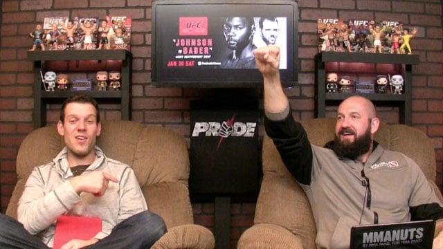 UFC Anthony Johnson vs Ryan Bader Recap | MMANUTS | EP # 277
