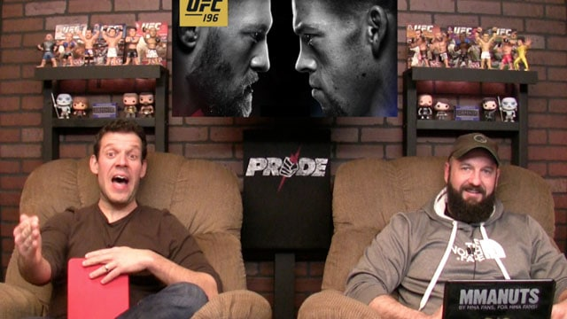 UFC Silva vs Bisping Recap | UFC 196 Preview | McGregor vs Diaz | MMANUTS | EP # 281