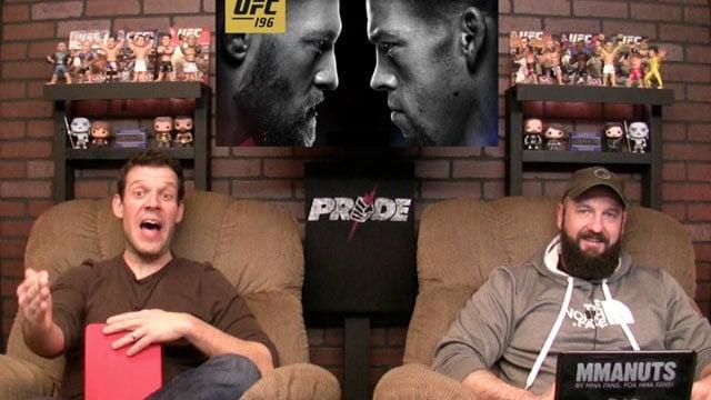 UFC Silva vs Bisping Recap   UFC 196 Preview   McGregor vs Diaz   MMANUTS   EP # 281