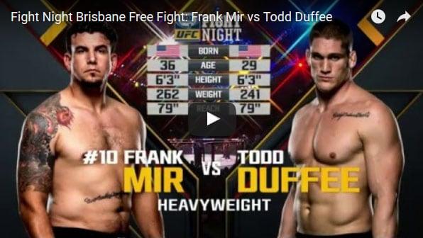 Frank Mir vs Todd Duffee