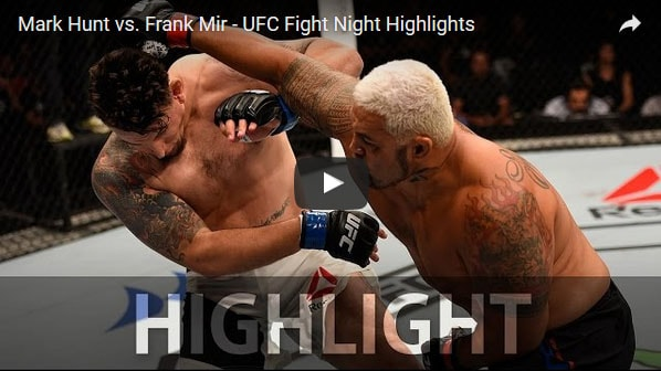 mark hunt vs mir