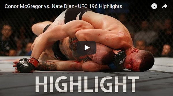 ufc 196 highlight