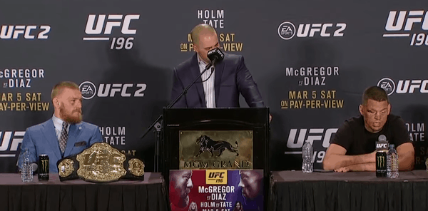 ufc 196 post-fight press conference