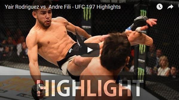 Yair Rodriguez vs Andre Fili