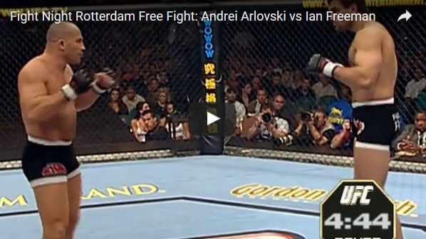 Andrei Arlovski vs Ian Freeman