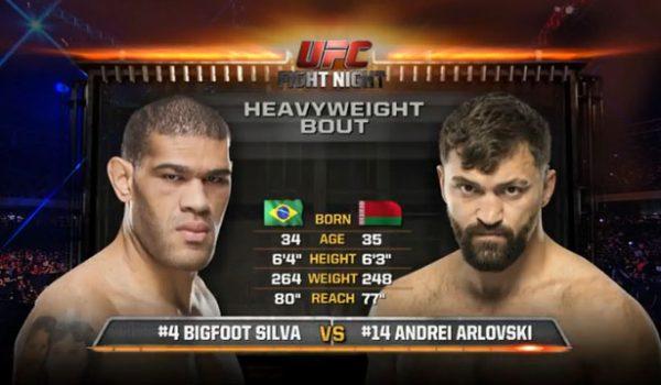 Andrei Arlovski vs Bigfoot Silva