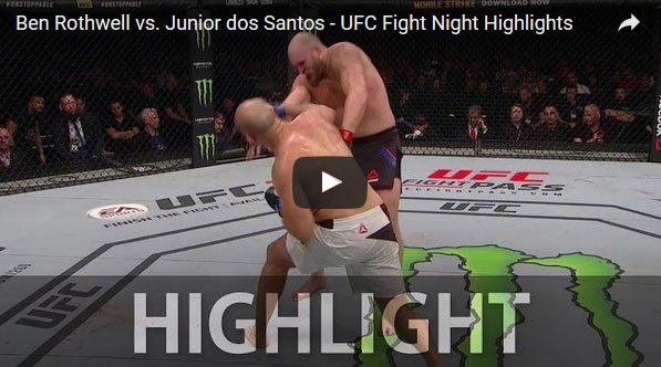 ben rothwell vs junior dos santos