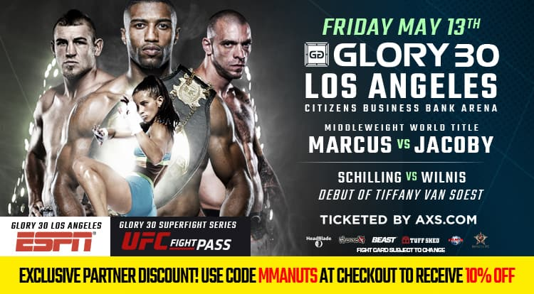 glory kickboxing coupon