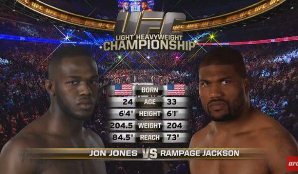 Jon Jones vs Rampage Jackson