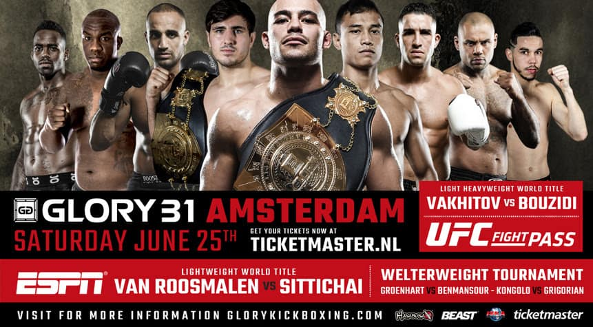Glory 31 Amsterdam