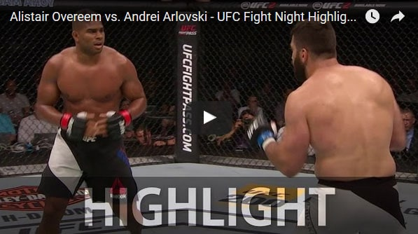 Alistair Overeem vs Andrei Arlovski