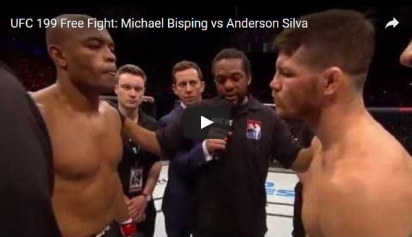 Anderson Silva vs Michael Bisping Full Fight