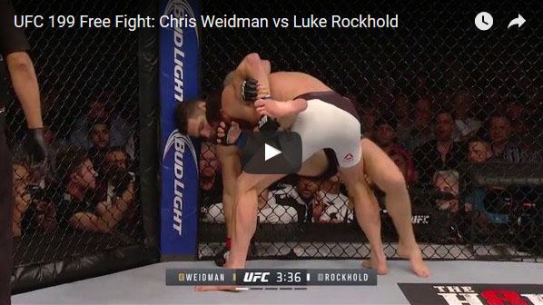Luke Rockhold vs Chris Weidman