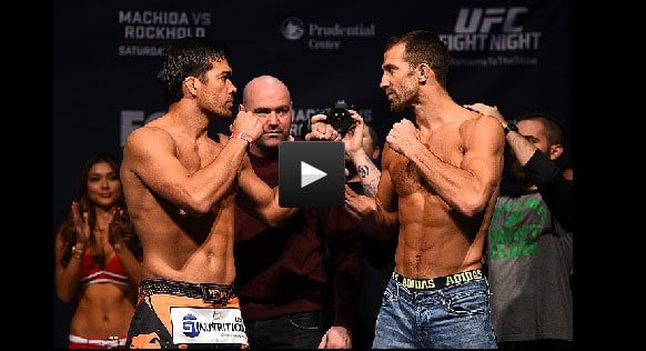 Luke Rockhold vs Lyoto Machida