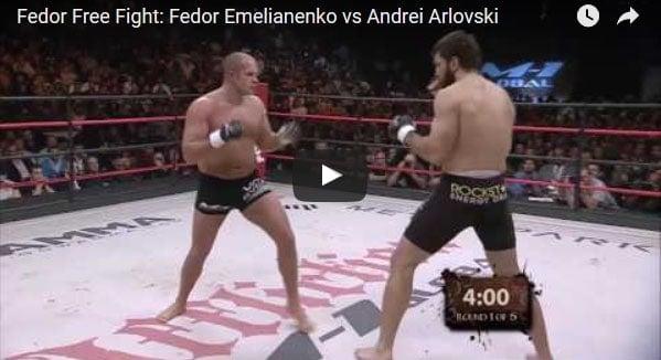 Fedor Emelianenko vs Andrei Arlovski full fight video