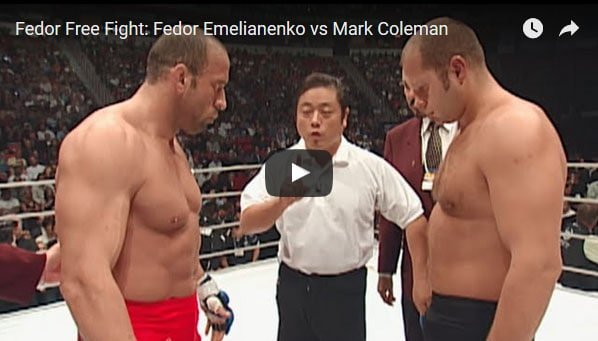Fedor Emelianenko vs Mark Coleman full fight