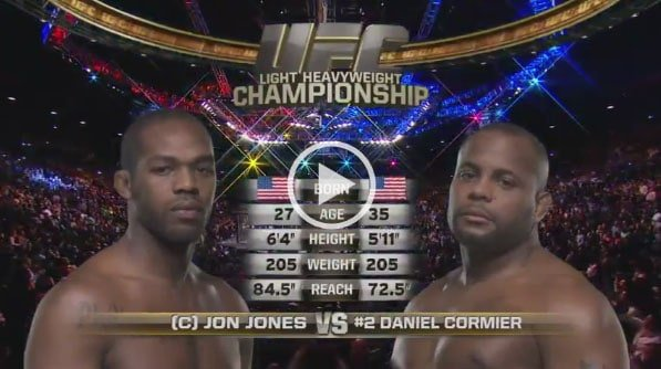 Jon Jones vs Daniel Cormier full fight