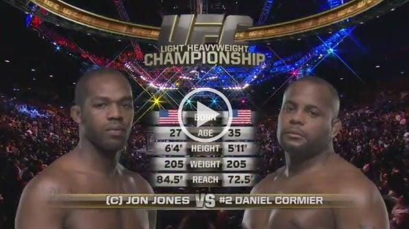 Jon Jones vs Daniel Cormier full fight