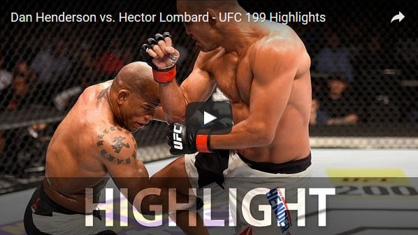 Dan Henderson vs Hector Lombard full fight video